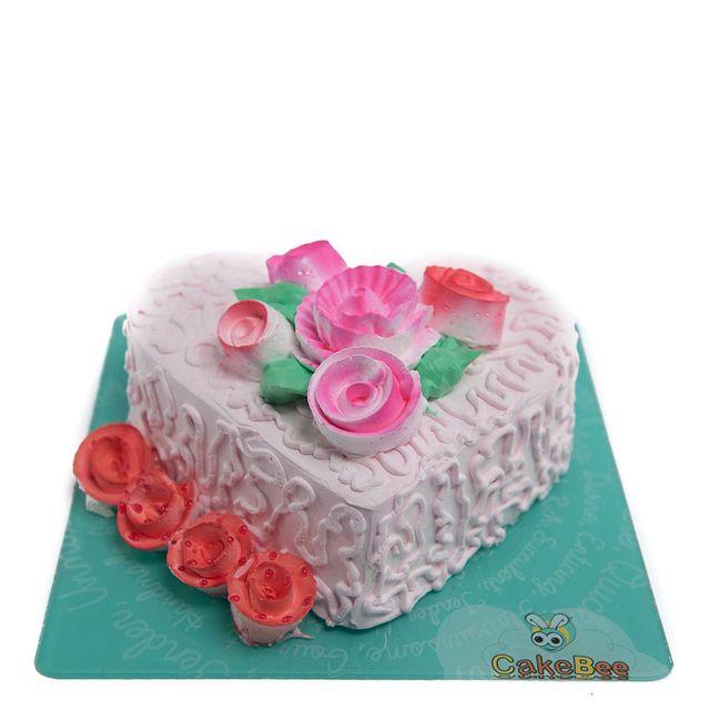 Symbol of Love Cake