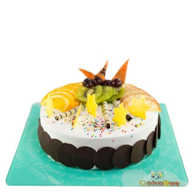 Fruit Delight Cake
