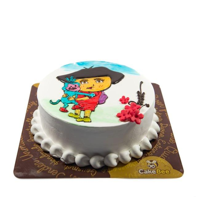 Dora and friends cake