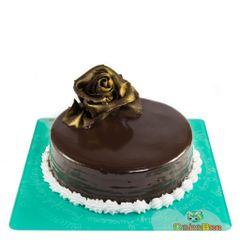 Rising Rose Cake