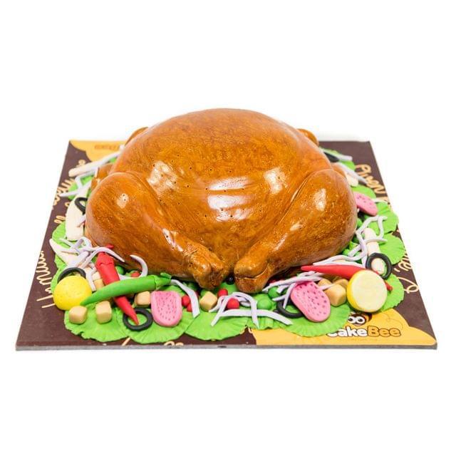 Chicken Dessert Cake