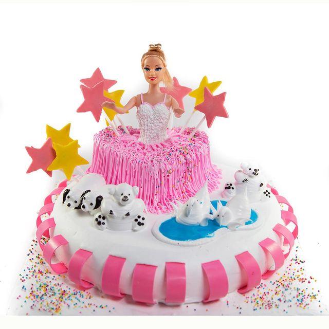Barbie in Wonderland Cake