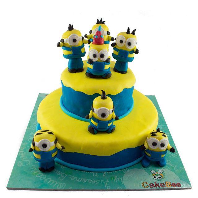 The Minions Cake