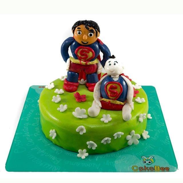 Superman Junior Cake