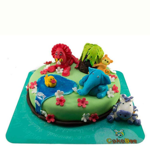 Animal Kingdom Fondant