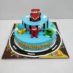 The Cars Movie Cake