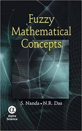 Fuzzy Mathematical Concepts   208pp/PB
