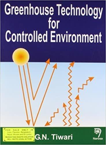 Greenhouse Technology for Controlled Environment   564pp/PB