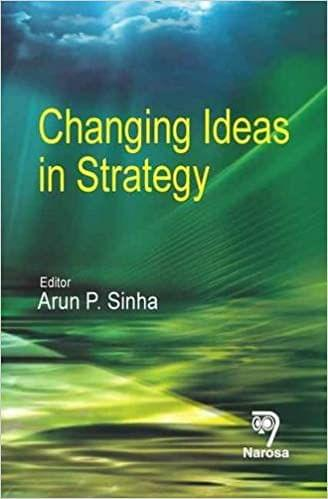 Changing Ideas in Strategy   220pp/HB
