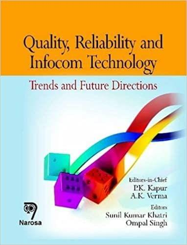Quality, Reliability and Infocom Technology:Trends and Future Directions   412pp/HB