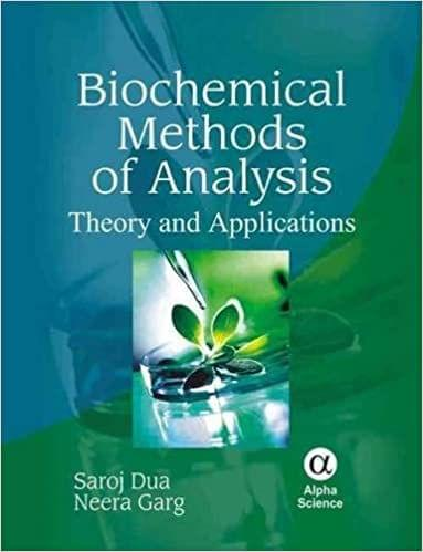 Biochemical Methods of Analysis:Theory and Applications   220pp/PB