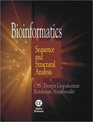 Bioinformatics:Sequence and Structural Analysis   450pp/PB