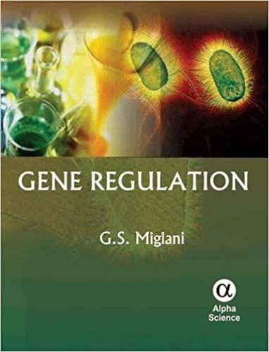 Gene Regulation   450pp/HB