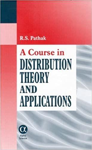 Course in Distribution Theory and Applications, A   158pp/PB