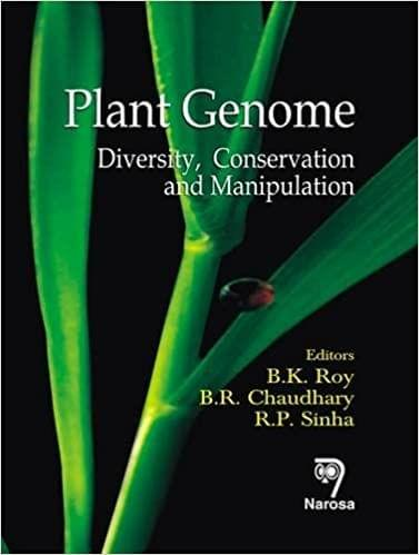 Plant Genome:Diversity, Conservation and Manipulation   198pp/HB