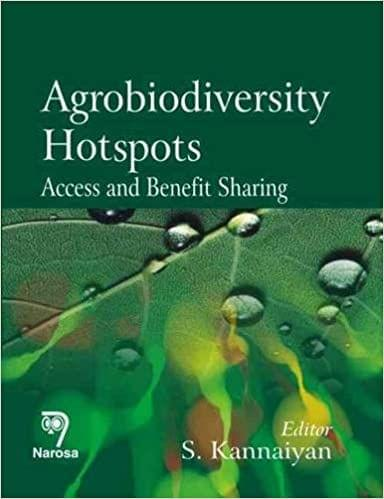 Agrobiodiversity Hotspots:Access and Benefit Sharing   322pp/HB