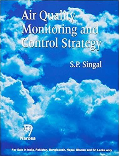 Air Quality Monitoring and Control Strategy   298pp/PB