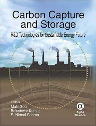Carbon Capture and Storage:R&D Technologies for Sustainable Energy Future   236pp/HB