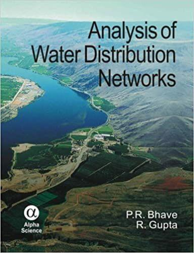 Analysis of Water Distribution Networks   536pp/PB