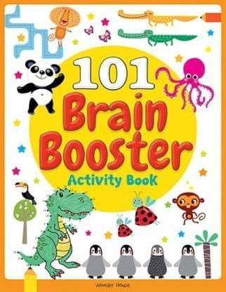 101 Brain Booster Activity Book: Fun Activity Book For Children