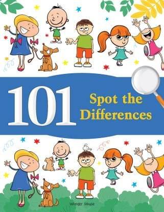 101 Spot the Differences : Fun Activity Books For Children