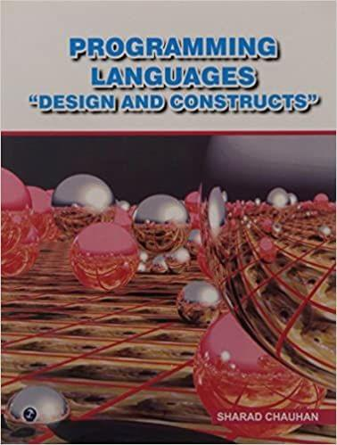 """Programming Languages """"Design and Constructs""""�"""