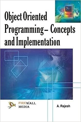 Object Oriented Programming � Concept & Implementations