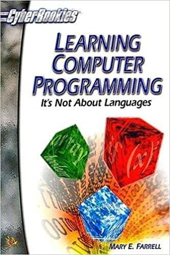 Learning Computer Programming: It's not about Lang.