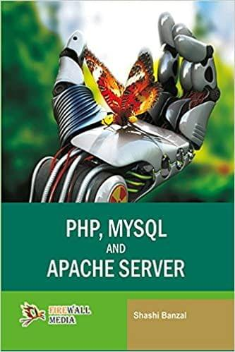 PHP, MYSQL and Apache Server