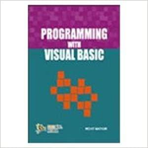 Programming with Visual Basic�