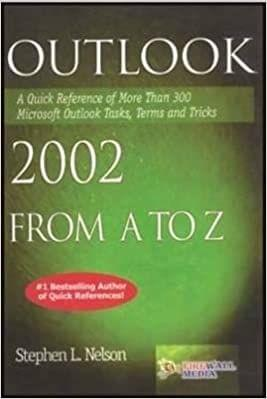 Outlook 2002 from A to Z