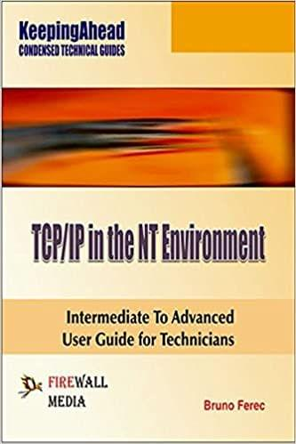 Keeping Ahead TCP/IP in the NT Environment