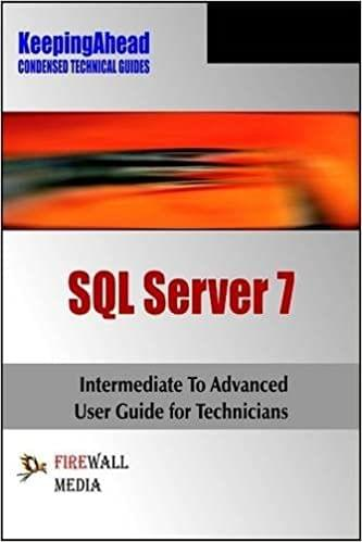 Keeping Ahead SQL Server 7