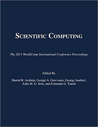 Scientific Computing 2013