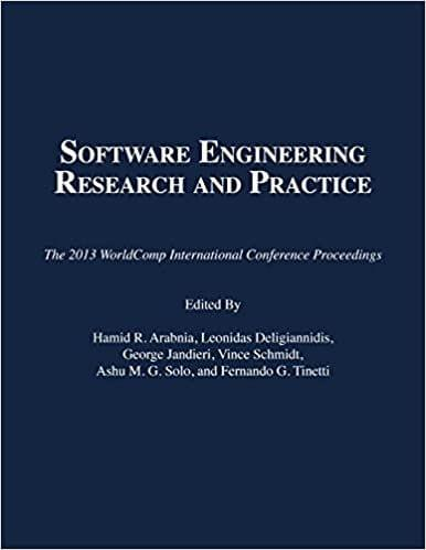 Software Engineering Research and Practice 2013