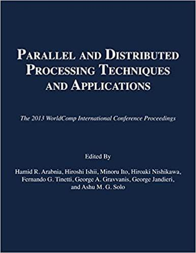 Parallel and Distributed Processing Techniques and Applications 2013