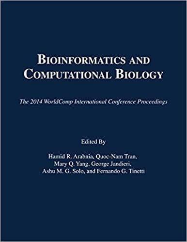 Bioinformatics and Computational Bio (2014 Conf. Proceedings)