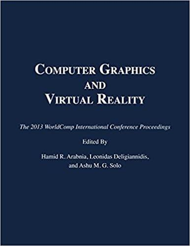 Computer Graphics and Virtual Reality 2013