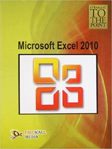 Straight To The Point - Microsoft Excel 2010�
