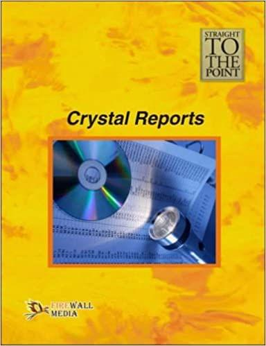 Straight to The Point - Crystal Reports