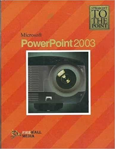 Straight to The Point - Microsoft Power Point 2003