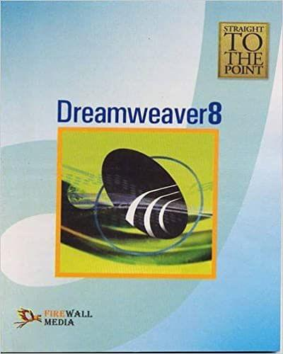 Straight to The Point - Dreamweaver 8