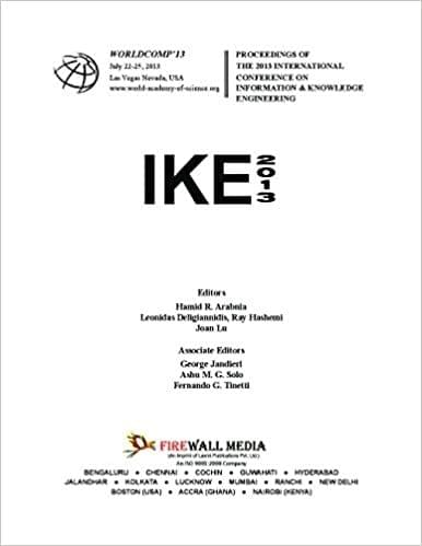 Conference on Information and Knowledge Engineering (IKE_2013)