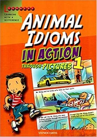 Animal Idioms in Action through Pictures 1 (English)