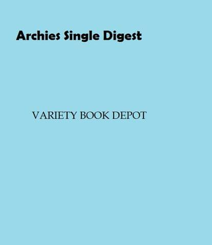 Archies Single Digest