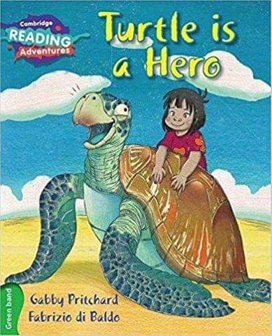 Green Turtle is a Hero