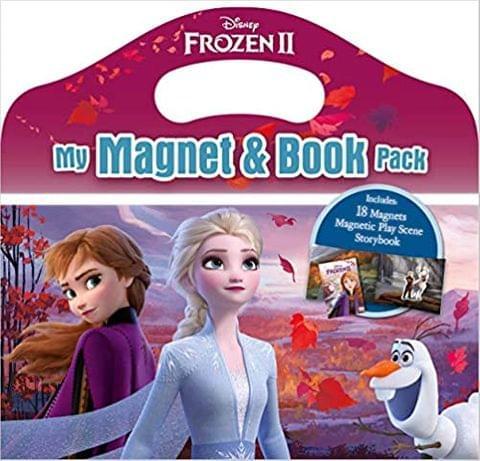 Disney Frozen ll My Magnet & Book Pack