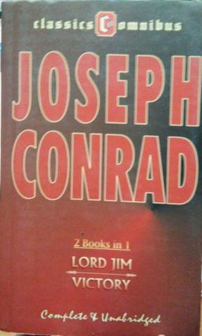 JOSEPH CONRAD 2 BOOKS IN 1 LORD JIM VICTORY