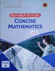 Concise Mathematics Class 10 For 2019  Examinations