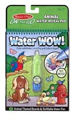 Melissa & Doug Water Wow Coloring Book Animals,Multi Color